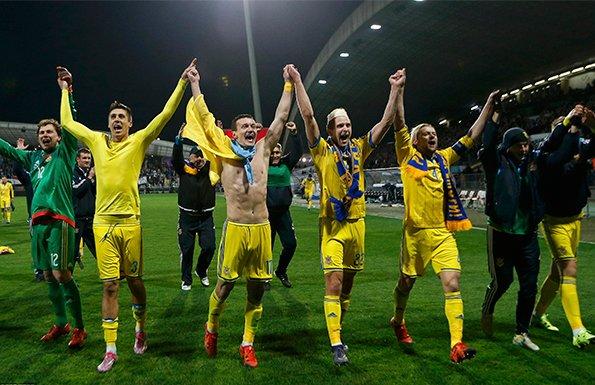 欧预赛-乌克兰1-1平斯诺文尼亚 总分3-1进正赛