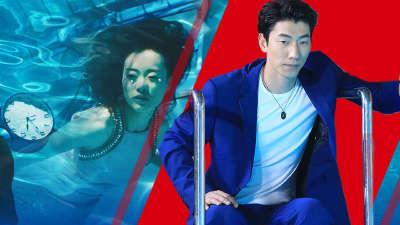"""张亮鼓励学员示范水下拍摄  """"雪女王""""梦幻微电影表现完美"""
