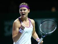 WTA年终总决赛小组赛  科贝尔VS萨法洛娃(中文) 20151030
