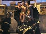 直击巴黎枪击爆炸案现场 警察持防暴盾牌待命