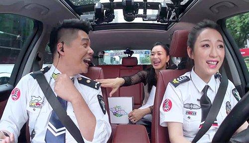 中国蓝主持人当专车司机