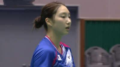 成池铉VS李蔷美 2016韩国大师赛女单决赛