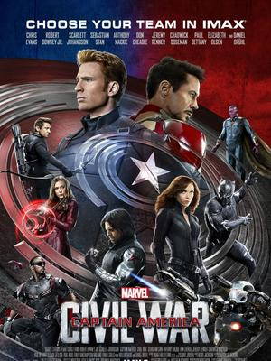 美国队长3:内战 英语版