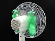 风扇后面加个塑料瓶,买空调的钱都省了