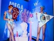 先锋电音与前沿艺术的极致碰撞 MEGA SENS蒸汽波幻境派对