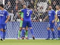欧冠-布冯扑点夸德拉多绝杀 10人尤文客场1-0里昂