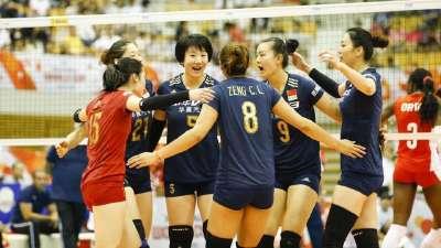 女排世界杯中国3-0轻取古巴 曾春蕾荣膺最佳