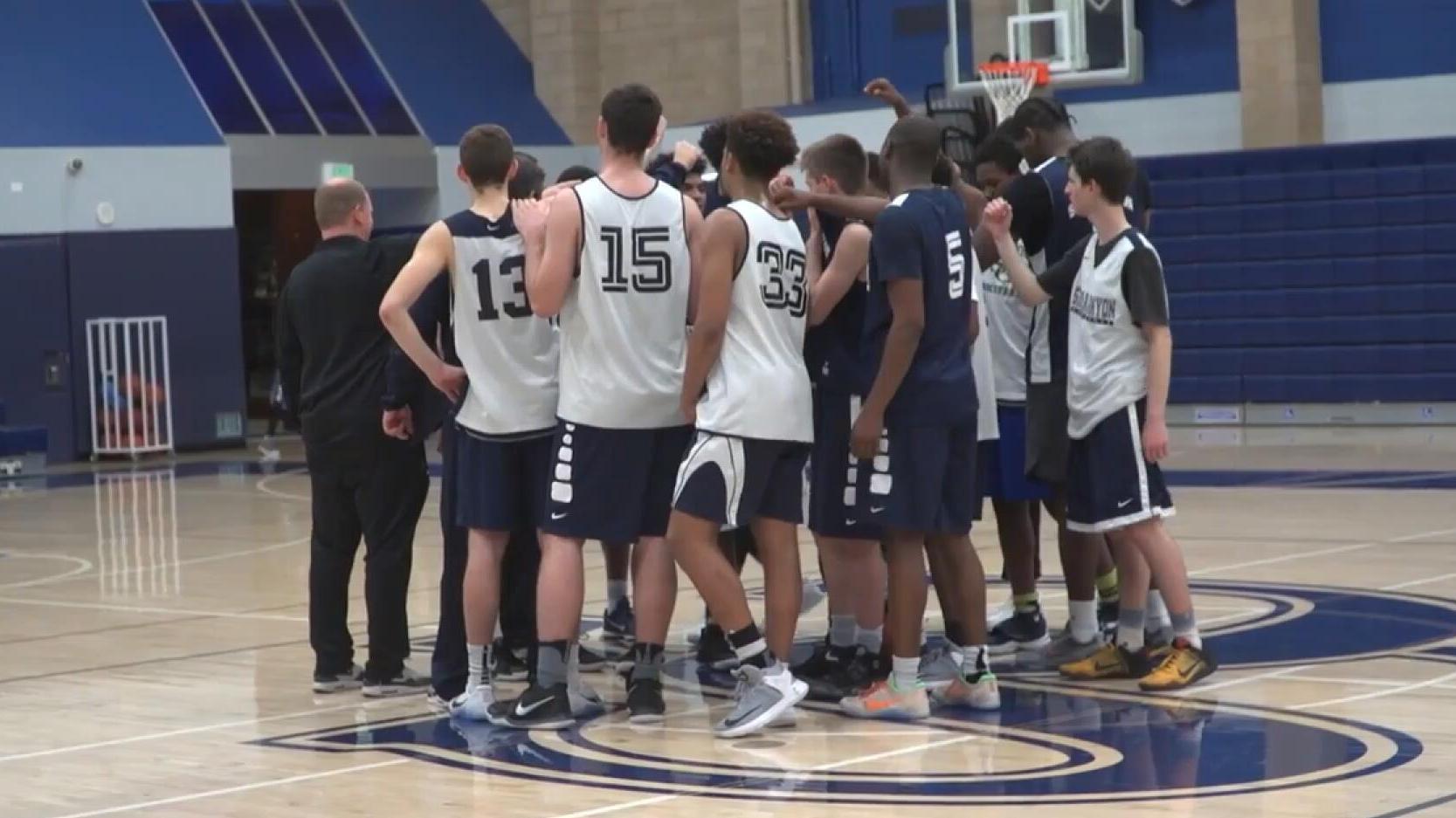 热血青春诠释篮球 美国高中联赛震撼纪录片