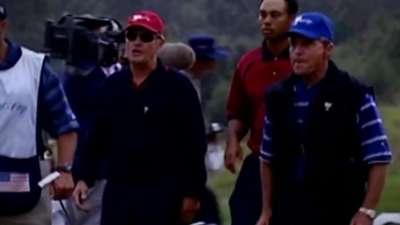 总统杯时刻-2003泰格伍兹大战厄尼艾尔斯
