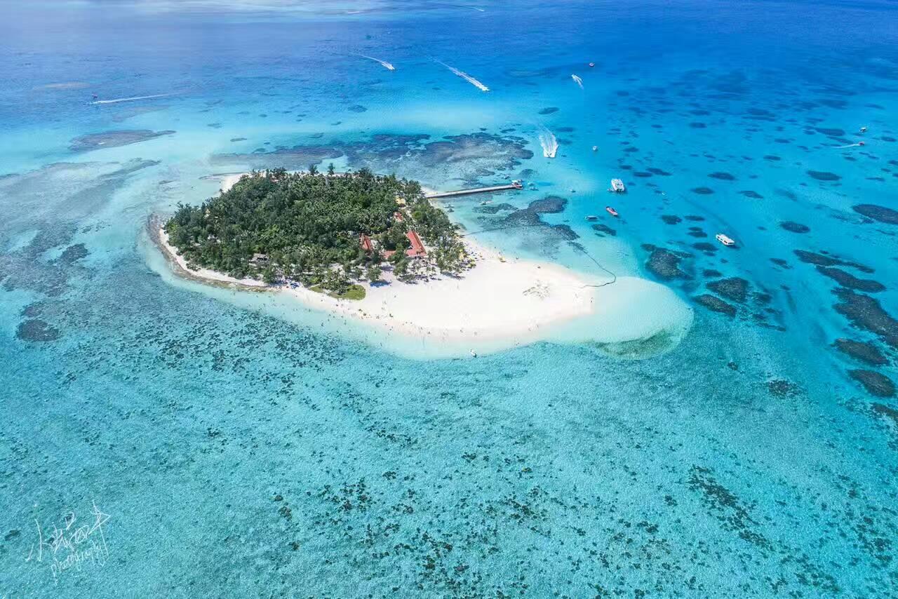 陆马里亚纳最美的小岛