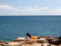 蕙兰瑜伽之特定功效 怀孕前期瑜伽 动态桥式