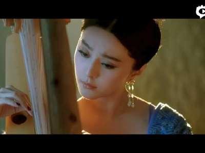 """[视频]《杨贵妃》曝""""情感""""预告""""琵琶语""""海报 范冰冰情陷两男"""