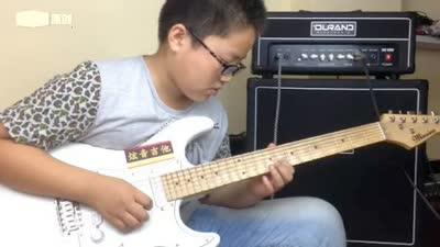 沂水 杨朔 电吉他独奏《名侦探柯南主题曲》