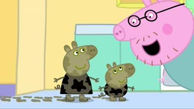 粉红猪小妹01 泥坑