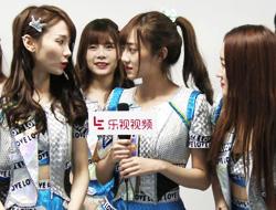 SNH48对镜头撒娇卖萌