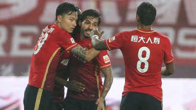 中超-恒大3-0亚泰破魔咒 J马传射高拉特郜林建功