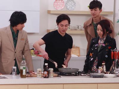 尹正厨房大显身手