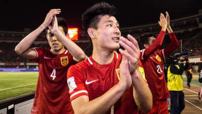 世预赛-国足2-0卡塔尔晋级12强 黄博文武磊建功
