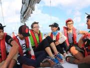 《起航吧少年》20160412:少年团首次起航 全体围捕宿舍蟑螂