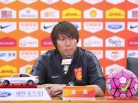 华夏0-2上港赛后新闻发布会 李铁谈及国足领队