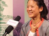 乐视网球专访郑妩双 青春力量愿踏实向前