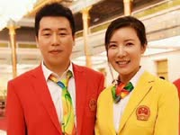 奥运夫妻惹人羡慕 杜丽庞伟的感人恋爱