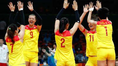 巾帼不让须眉!中国女排摘金 3-1完胜重回世界之巅