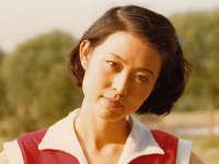 倪萍晒30年前老照片