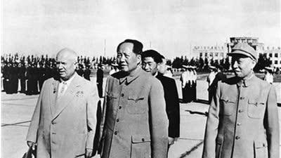 新中国国庆五周年 赫鲁晓夫首次访华的背后