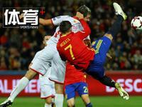体育+极速100秒:西班牙轻取马其顿 意大利4-0大胜