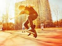 滑板初级教学入门篇第十六集 平地小技巧