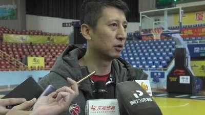 郭士强:对广厦球员全面布防 避谈向篮协申诉事件
