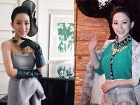 穿礼服的中国女运动员 美得不可方物