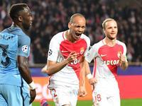 欧冠-妖王破门法尔考伤缺  曼城1-3摩纳哥遭淘汰