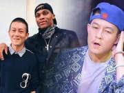 陈冠希合影NBA巨星威少 难掩老态被侃像赵本山