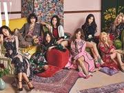 少女时代拍出道十周年纪念照 八成员华丽复古风