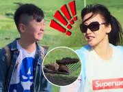 《上阵父子兵》20170729:柳岩空降草原竟捡马粪 武艺博与哥哥爆萌上线