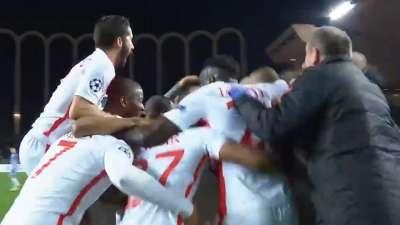摩纳哥3-1曼城赛后众生相:摩纳哥抱团狂欢 瓜帅不愿退场