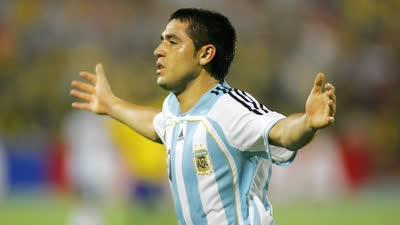 经典-里克尔梅头槌+任意球 阿根廷4-2哥伦比亚