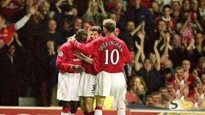 17年前曼联曾5-1狂屠安德莱赫特 安迪科尔霸气戴帽