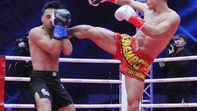 勇士的荣耀自由搏击 付庆南vs泰纳吉
