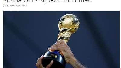 FIFA公布联合会杯大名单 C罗领衔中超两将入选