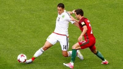 小豌豆门前头槌破网 墨西哥扳平比分1-1葡萄牙