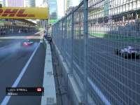 F1阿塞拜疆站正赛 斯托尔急刹车维修站险超速