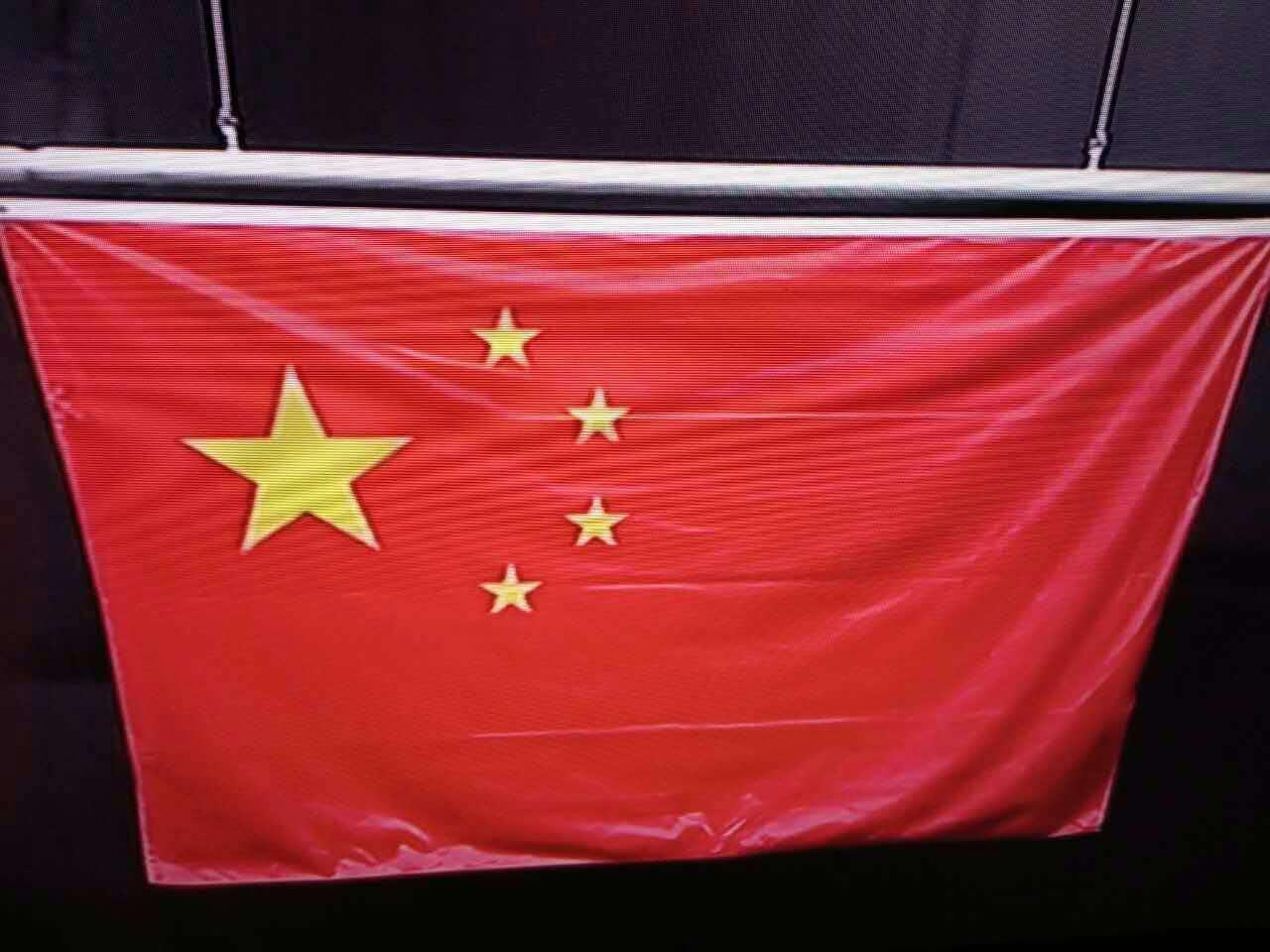 星星排布方向出错引吐槽 里约奥运或更换中国国旗