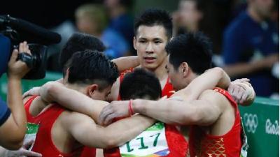 中国体操队的里约之殇 断崖式下滑不足为奇
