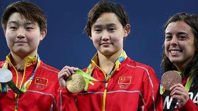 任茜加冕中国首位00后奥运冠军 成10米台新领袖
