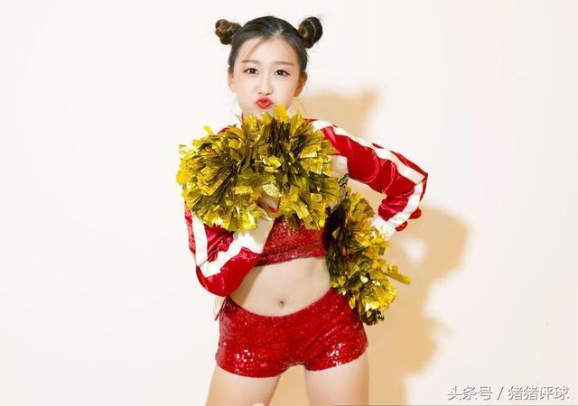 山东高速篮球宝贝炫舞团济南vc啦啦队员,俏皮可爱.