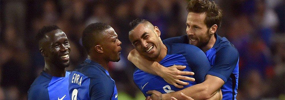 吉鲁破门帕耶进任意球 法国3-2喀麦隆