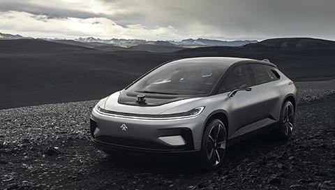 FF全球首台互联网生态电动车首发
